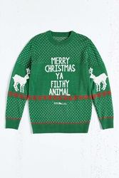 Urban Outfitters Filthy Animal Sweater Green