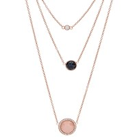 Fossil Jf02512791 Ladies Necklace Rose Gold