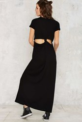 Nasty Gal As Easy As They Come Cutout Maxi Dress