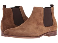 Dune Marsden Tan Suede Men's Lace Up Boots