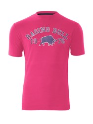 Raging Bull 1976 T Shirt Pink