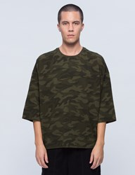 Stampd Camo Washed Oversized T Shirt
