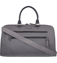 Ted Baker Contrast Handle Holdall Grey