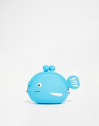 Asos Jelly Whale Coin Purse Multi