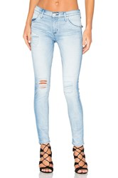 Hudson Jeans Lilly Mid Rise Ankle Skinny Rialto