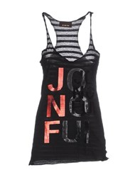 Jo No Fui Topwear Vests Women Black