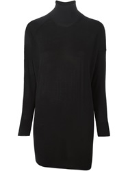 Laneus Knitted Dress Black