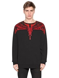 Marcelo Burlon Esmeralda Printed Cotton Sweatshirt