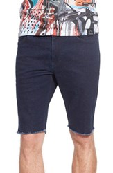 Men's The Rail Skinny Fit Cutoff Denim Shorts