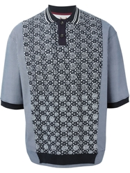Antonio Marras Contrasting Panels Polo Shirt