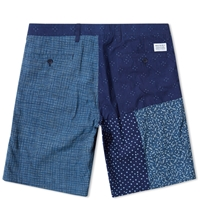 Norse Projects Aros Patch Short Indigo