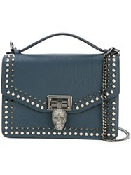 Philipp Plein Mini 'Swish' Tote Blue