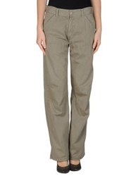 P.A.R.O.S.H. Casual Pants Military Green
