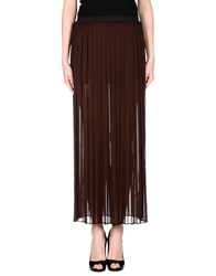 Enza Costa Skirts Long Skirts Women Cocoa