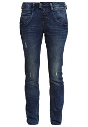 Tom Tailor Relaxed Fit Jeans Mid Stone Wash Blue Denim