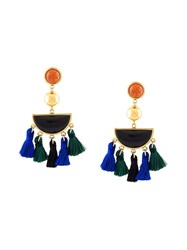 Lizzie Fortunato Jewels 'Fiesta' Tassel Earrings Metallic