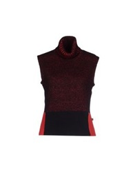Dolce And Gabbana Turtlenecks Red