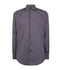 Peter Millar Chamonix Check Shirt Male Purple