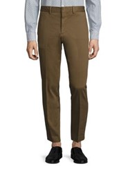 J. Lindeberg Slim Fit Textured Dress Pants Antilope
