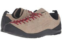Keen Jasper Silver Mink Men's Lace Up Casual Shoes Beige