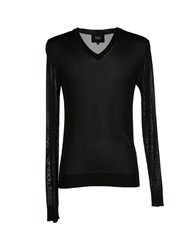Dandg Knitwear Jumpers Men Black