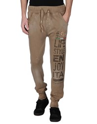 Happiness Trousers Casual Trousers Men Camel