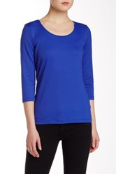 Hugo Boss Solid Tee Blue