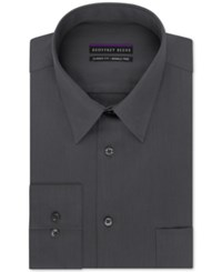 Geoffrey Beene Non Iron Big And Tall Sateen Solid Dress Shirt Granite