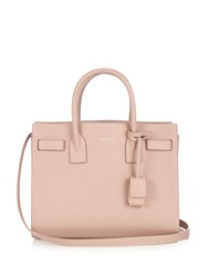 Saint Laurent Sac De Jour Baby Grained Leather Tote Light Pink