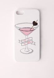 Missguided You Lift My Spirits Pink Iphone 5 Case
