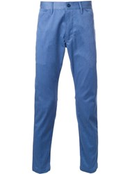 Bedwin And The Heartbreakers Slim Fit Trousers Blue