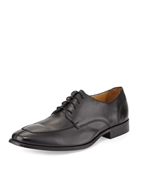 Cole Haan Adams Leather Split Oxford Lace Up Black