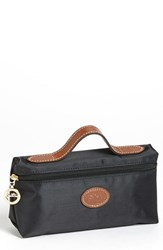 Longchamp 'Le Pliage' Pouchette Black