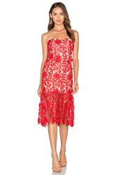 Jarlo Charlie Dress Red