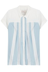 Paul And Joe Cotton Blouse With Pleats Multicolor