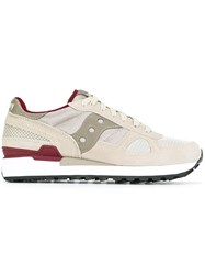 Saucony Lace Up Sneakers Nude And Neutrals