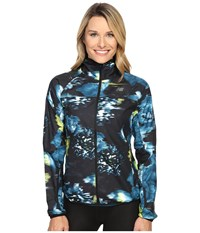 New Balance Windcheater Jacket Urban Floral Print Women's Coat Multi