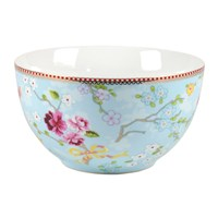 Pip Studio Chinese Rose Bowl Blue 18Cm