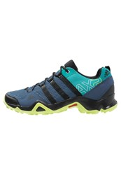 Adidas Performance Ax2 Walking Shoes Mineral Blue Core Black Green