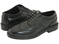 Deer Stags Tribune Black Men's Lace Up Wing Tip Shoes