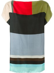 Pierre Louis Mascia Pierre Louis Mascia Striped Blouse Multicolour