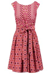 Derhy Enjambee Summer Dress Rose Pink