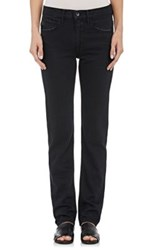 Helmut Lang Women's Relaxed Tapered Jeans Black