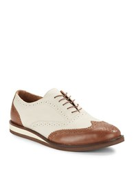 Polo Ralph Lauren Johnsly Oxfords Tan Ivory