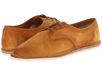 Frye Milly Oxford Camel Sunwash Nubuck Women's Lace Up Casual Shoes Brown