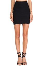 Bcbgmaxazria Mini Bandage Skirt Black