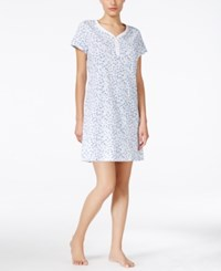 Charter Club Henley Sleepshirt Only At Macy's Whimsy Floral
