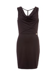 Relish Cowl Neck Dress Black