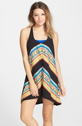 Rip Curl 'Sunset Surf' Cover Up Dress Juniors Black