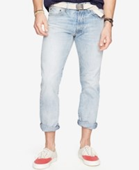 Denim And Supply Ralph Lauren Slim Fit Faded Jeans Blue